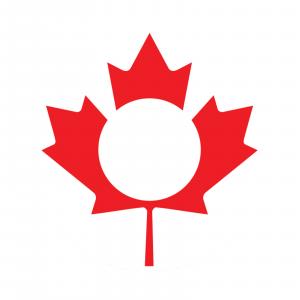 Redington i.D 5/6 wt. Fly Reel Decal O' Canada