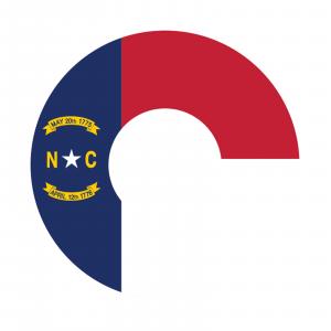 Redington i.D 5/6 wt. Fly Reel Decal North Carolina