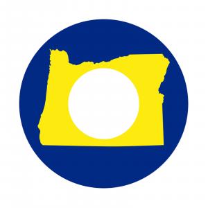 Redington i.D 5/6 wt. Fly Reel Decal Oregon