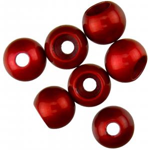 """Spirit River Hot Beads 1/4"""" Metallic Red"""