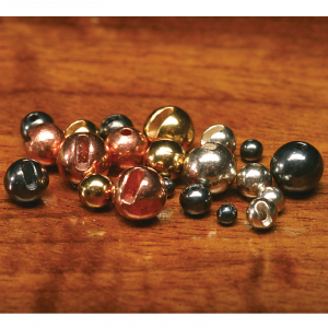 "Hareline Slotted Tungsten Beads 3/16"" Metallic Pink"