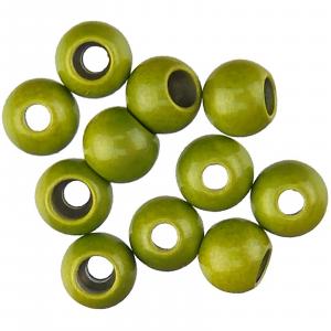 "Spirit River Hot Beads 1/8"" Olive"