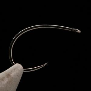 Kona BC2 Curved Nymph Emerger Shrimp Barbless Hooks - 8