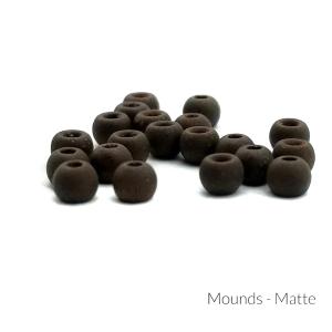 """Firehole Matte Tungsten Beads 3/32"""" Mounds Matte"""