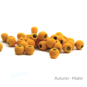 "Firehole Matte Tungsten Beads 1/8"" Autumn Matte"