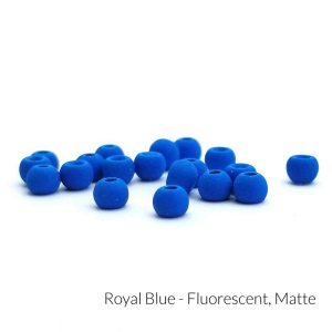 "Firehole Matte Tungsten Beads 5/32"" Royal Blue Matte"