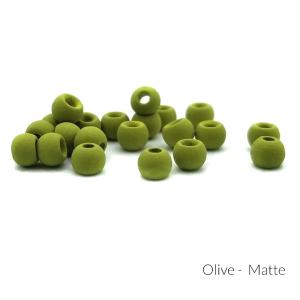 "Firehole Matte Tungsten Beads 1/8"" Olive Matte"