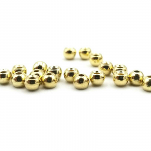 "Firehole Plated Tungsten Beads 3/32"" Gold"