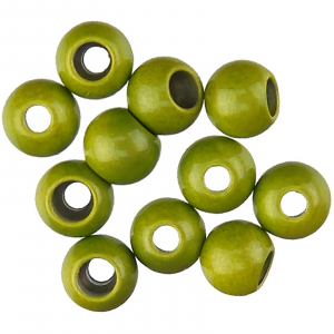 "Spirit River Hot Beads 3/16"" Olive"