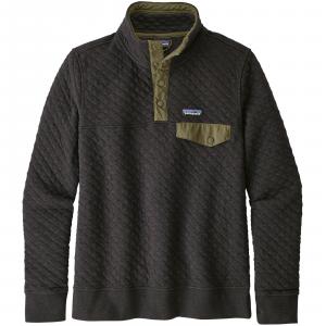 Patagonia Women's Organic Cotton Quilt Snap-T(R) Pullover Medium Black