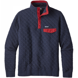 Patagonia Men's Cotton Quilt Snap-T(R) Pullover XL Navy Blue