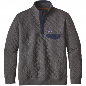 Patagonia Men's Cotton Quilt Snap-T(R) Pullover Large Forge Grey