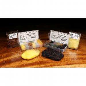 Fly Fish Food's Bruiser Blend Dubbing Sasquatch Brown