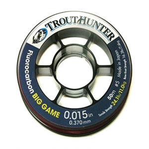TroutHunter Big Game Fluorocarbon Tippet 45.2 LB - 0.020in
