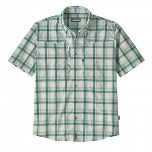 Patagonia Men's Sun Stretch Shirt Granville Big: Birch White M