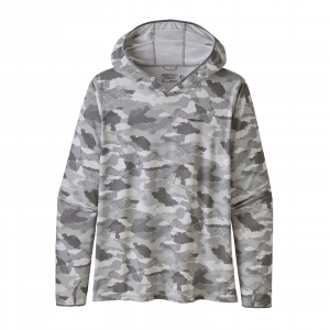 Patagonia Men's Tropic Comfort Hoody II Myrtle Bark Camo: Birch White XL