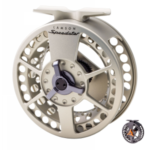 Waterworks Lamson Speedster Fly Reel 3.5 Grey/Orange
