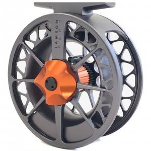 Waterworks Lamson Guru Series II Fly Reel 1.5 Grey/Orange