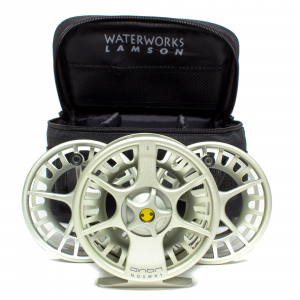 Waterworks Lamson Liquid Fly Reel 3-Pack 3.5 Vapor 7-8 wt (Model 3.5)
