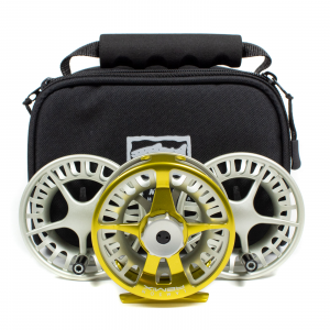 Waterworks Lamson Remix Fly Reel 3-Pack 4 SubLime 9-10 wt (Model 4)