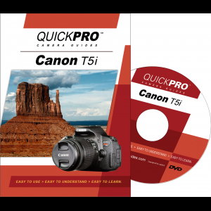 QuickPro Camera Guide for Canon T5i Instructional DVD