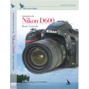 Take Offer Nikon DVD D600 Camera Training Video Guide by Blue Crane Before Too Late