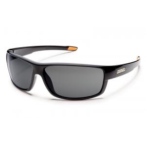 Suncloud Voucher Sunglasses Black - Gray Polarized