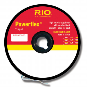 RIO Powerflex Tippet Spool - 5X - 110 yds.