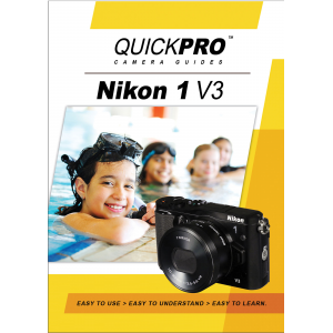 QuickPro Camera Guides Nikon 1 V3 Instructional DVD