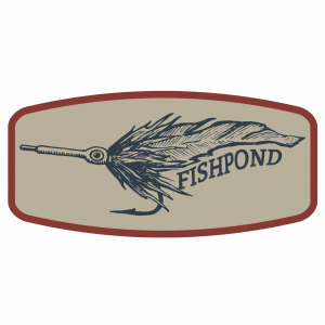 "Fishpond Bunny Fly Sticker 6"" Decorative Bumper Fly Fishing"