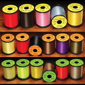 UNI Waxed Thread 3/0 Yellow