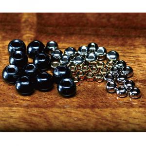 """Hareline Tungsten Beads 5/64"""" Black"""