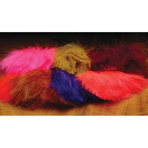 Hareline Marabou Strung Blood Quills Olive Was: $2.90 Now: $1.96.
