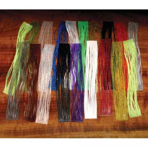Hareline Crazy Legs Purple/Electric Blue Flake
