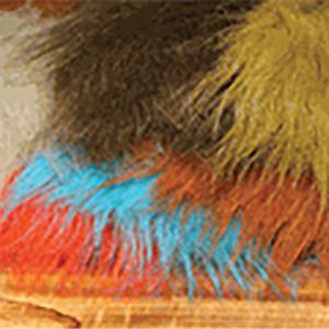 Hareline Extra Select Craft Fur Fluorescent Blue