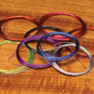Hareline Senyo's Thin Intruder Trailer Hook Wire Chartreuse