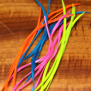 Hareline Stripped Goose Biots Fluorescent Blue Was: $5.27 Now: $2.97.