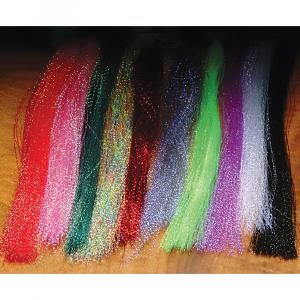 Hareline Krystal Flash Fluorescent Shrimp Pink