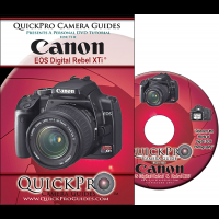 Canon Rebel XTi DVD Instructional Training Guide