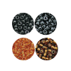 Killer Caddis Glass Beads Midge Tan