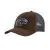 Patagonia Fitz Roy Bison LoPro Trucker Hat Bristle Brown