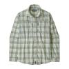 Patagonia Men's Long-Sleeved Sun Stretch Shirt Granville Big: Celadon L