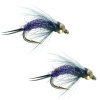 Umpqua Purple Prince Gold Bead 14