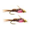 Umpqua Hot Belly Pheasant Tail (Gold Bead) Pink 14