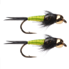 Umpqua Copper John Gold Bead Chartreuse 20  4 Pack