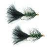 Umpqua Gold Bead Crystal Bugger Black 10 - 12 Pack