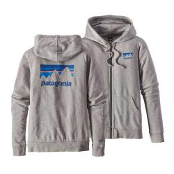 Patagonia Women's Shop Sticker Light-Weight Full-Zip Hoody
