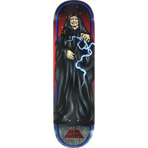 "Santa Cruz Star Wars The Emperor Skateboard Deck - 8.37"" x 32"""