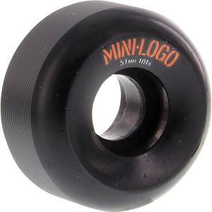 Mini Logo A-Cut Black Skateboard Wheels - 51mm 101a (Set of 4)