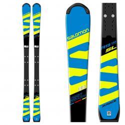 Salomon X-Race Lab Race Skis with X-12 Lab Bindings 2018